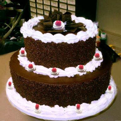 2 tier Black forest Cake 3kg
