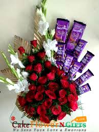 Roses dairy milk Chocolates Bouquet