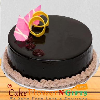 1 kg eggless choco valvette cake