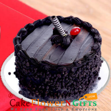 1kg eggless death by chocolate cake