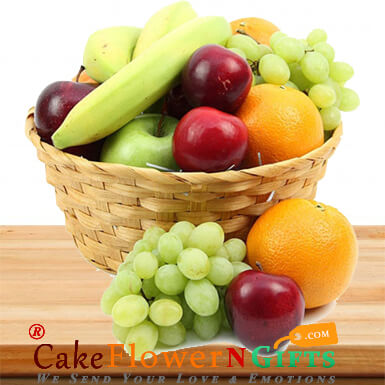 3Kg Fresh Fruits Gift Basket