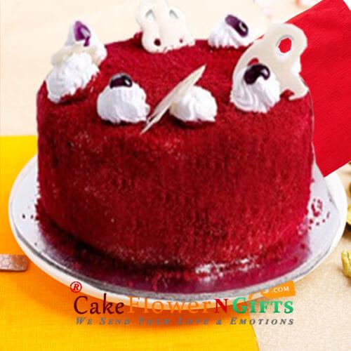 500gms Red Velvet Cake