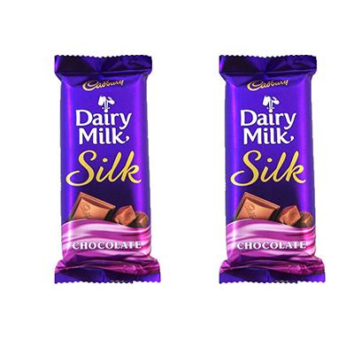 2 dairy milk silk chocolate