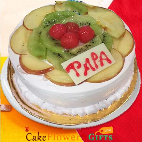1Kg Eggless Fruit Cake