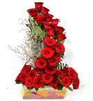 send Online Roses Flower Bouquet Home Delivery Servces to Ghaziabad Samday or Midnight Online Order Now
