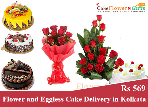 best online cake and flower delivery in Kolkata