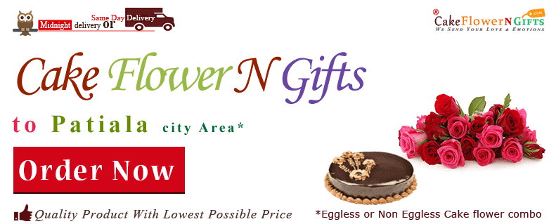 online Flower Cake order in Patiala