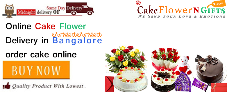Online Flower Cake Order In Bangalore City